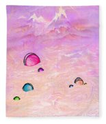 Resting Places Fleece Blanket