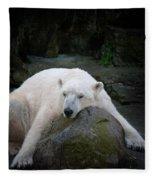 Resting Polar Fleece Blanket