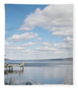 Resting Waters Fleece Blanket