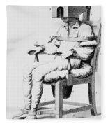 Restraining Chair 1811 Fleece Blanket