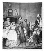 Returning Soldier, 1866 Fleece Blanket