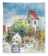 Reute In Germany 01 Fleece Blanket