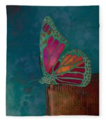 Reve De Papillon - S04bt02 Fleece Blanket