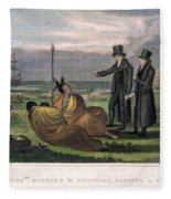 Reverend Samuel Marsden Fleece Blanket