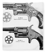 Revolvers, 19th Century Fleece Blanket