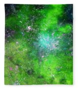 Rhapsody Of Stars In C Major  Fleece Blanket