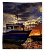 Rhos Sunrise Fleece Blanket