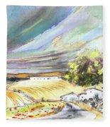 Ribera Del Duero In Spain 13 Fleece Blanket