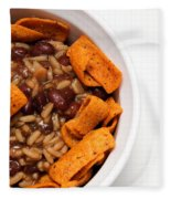 Rice And Beans With Chile Cheese Fritos Fleece Blanket