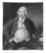 Richard Arkwright, English Industrialist Fleece Blanket