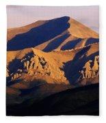 Richardson Mountains, Dempster Highway Fleece Blanket
