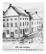 Richmond: First Capitol Fleece Blanket