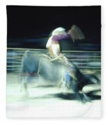 Ride Him Cowboy Fleece Blanket
