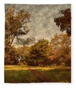 Ridge Walk - Holmdel Park Fleece Blanket