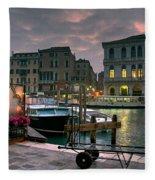 Riva Del Vin. Venezia Fleece Blanket