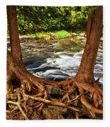 River And Roots Fleece Blanket