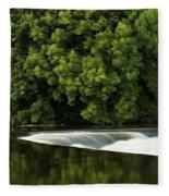 River Boyne, County Meath, Ireland Fleece Blanket