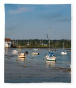 River Deben Estuary Fleece Blanket