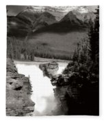 River Fall Part 1 Fleece Blanket