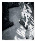 River Fall Part 2 Fleece Blanket