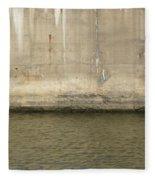 River In The City 2 Fleece Blanket