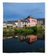 River Nore, Kilkenny, County Kilkenny Fleece Blanket