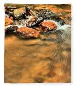 River Rock Swirl Fleece Blanket