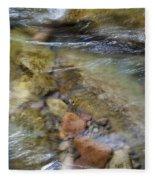 River Rocks Fleece Blanket