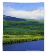 River Roe, Binevenagh, Co Derry Fleece Blanket