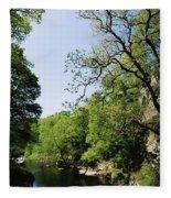 River Roe, Roe Valley, Limavady, Co Fleece Blanket