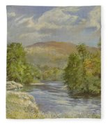 River Spey - Kinrara Fleece Blanket