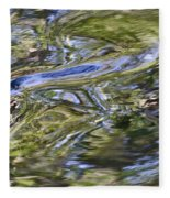 River Swirls - Abstract Fleece Blanket