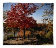 River Tree Fleece Blanket