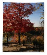 River Tree Fleece Blanket