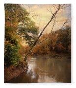 Riverbank 1 Fleece Blanket