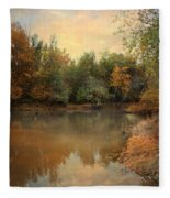 Riverbank 2 Fleece Blanket