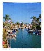 Rivo Alto Canal Fleece Blanket