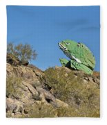 Road Frog Fleece Blanket