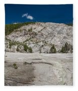 Roaring Mountain Panorama Fleece Blanket