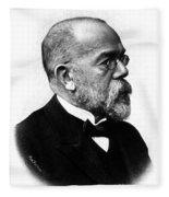 Robert Koch, German Microbiologist Fleece Blanket