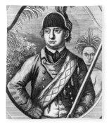 Robert Rogers, Colonial American Fleece Blanket