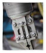 Robotic Arm On Deep Sea Submarine Fleece Blanket