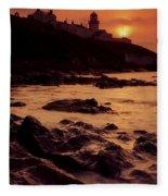 Roches Point, Whitegate, Cork Harbour Fleece Blanket