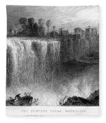 Rochester: Genesee Falls Fleece Blanket
