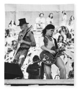 Rock And Roll At Day On The Green 1975 Fleece Blanket