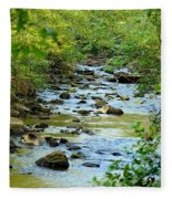 Rock Creek Bed Fleece Blanket