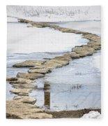 Rock Lake Crossing Fleece Blanket