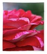 Rock N Roll Rose Fleece Blanket