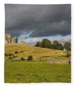 Rock Of Cashel, Cashel, County Fleece Blanket