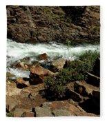 Rock Rush Glen Alpine Creek Fleece Blanket